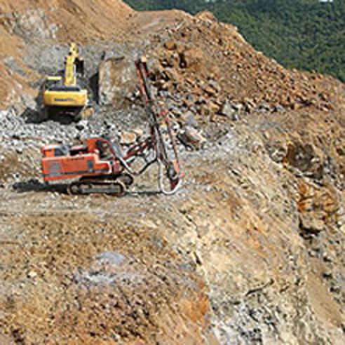 砂利採石業