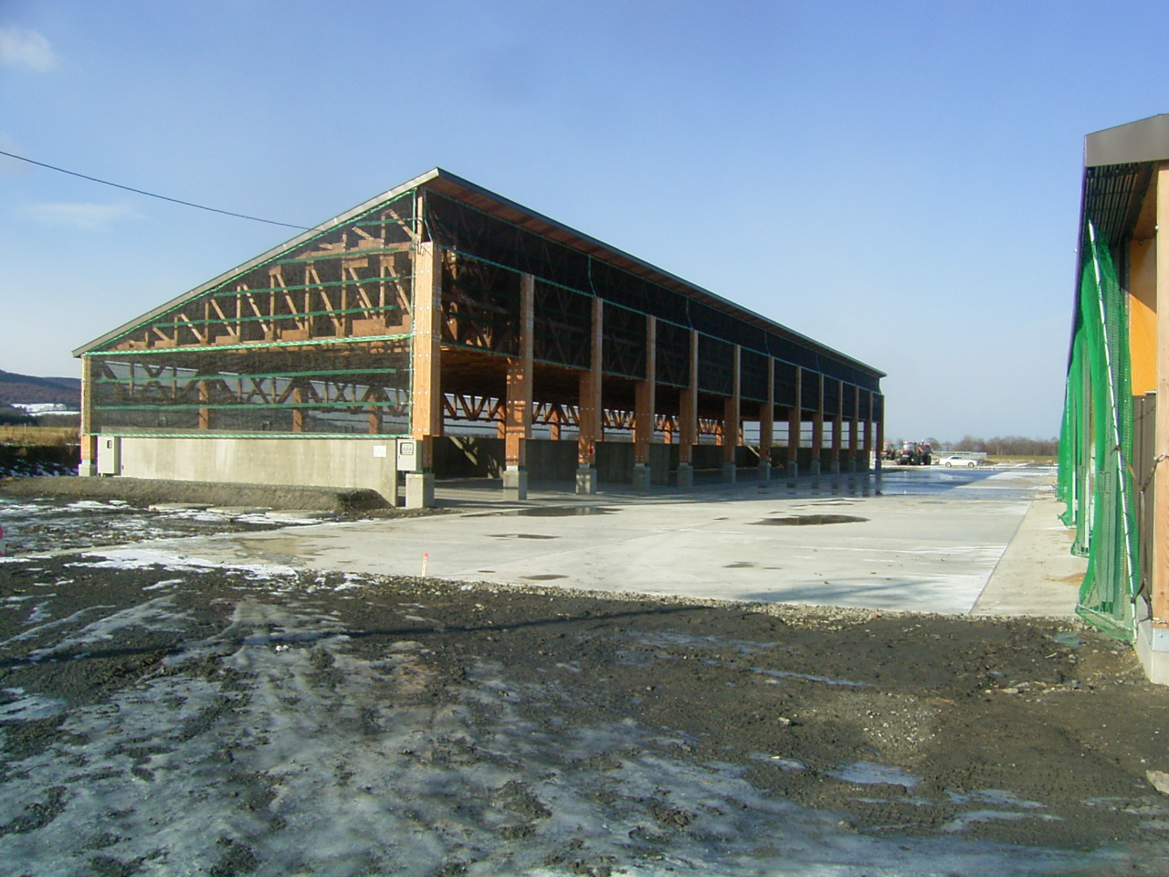 草地整備(公共牧場)はまなす第1地区育成舎5